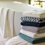 Air Weight Bath Towel Collection by Coyuchi, Chispa Magazine