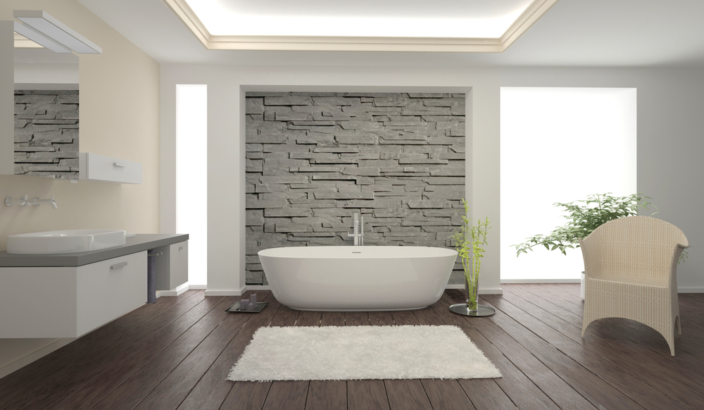 how to create an ultra modern bathroom