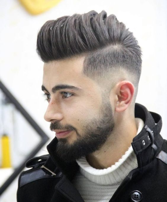 Comb Over Taper Fade-Chispa Magazine